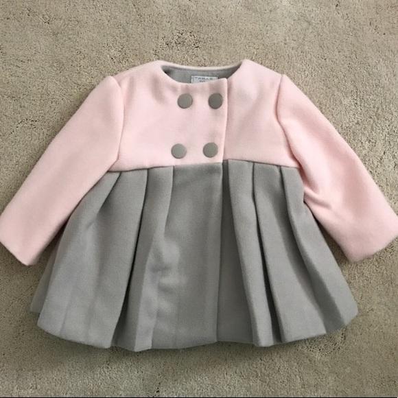 fcf468aec 💝ELLIE TAHARI💝pink coat 3-6 mo